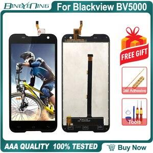 Image 4 - Piezas de repuesto para Blackview BV5000 LCD y Digitalizador de pantalla táctil, alta calidad, con módulo de pantalla de Marco