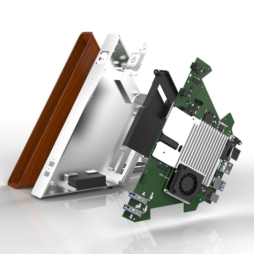 Martrea Angle AA-B4 DIY Mini PC Intel Apollo Lake N3450 Windows10 64GB EMMC 128GB SSD Bluetooth 4.0 TV Box 2019 for TV Computer-2