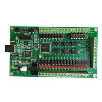 3 / 4 Axis Mach3 CNC USb 200KHz Breakout Board Engraving Machine Interface (akz250)handwheel Control Card