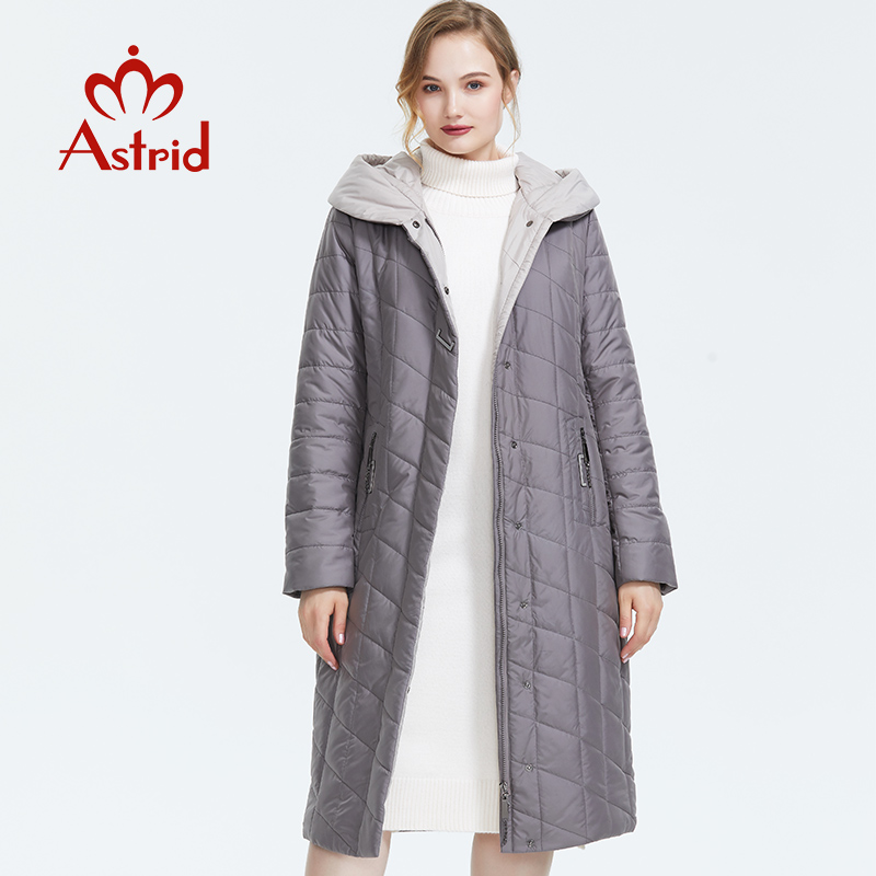 Astrid 2019 Winter new arrival down jacket women outerwear high quality loose clothing with a hood winter coat women AM-2674