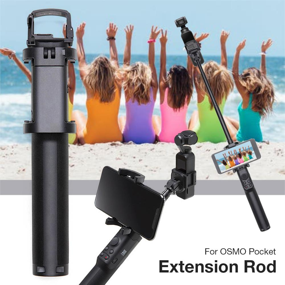 Extension Stick Rod For DJI OSMO Pocket Accessories Built-in Battery Charging Mini Tripod For DJI Osmo Pocket Outdoors Suppplies