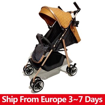 Wózek dziecięcy składany wózek dziecięcy wysokiej światło krajobrazu waga przenośne podróży wózek wózek dziecięcy noworodka dziecięcy wózek nosidło wózek dziecięcy tanie i dobre opinie copsean W wieku 0-6m 7-12m 13-24m 25-36m 4-6y CN (pochodzenie) Numer certyfikatu 16 kg 0~5 Years Old Baby Stroller