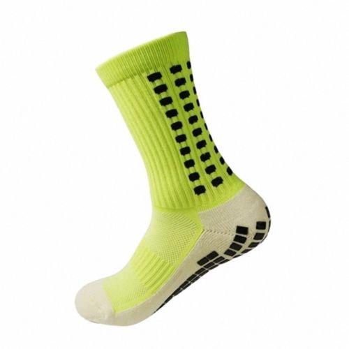 Men Football Socks Anti Slip Soccer Socks Men Sports Socks Good Quality Cotton Calcetines The Same Type As The Trusox 10 Colors