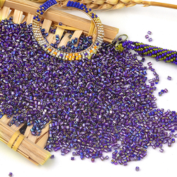 45000 Pcs/Pack Real Miyuki Beads 24 Colors Dia 2mm Hole 0.8mm Glass Seed Bead For Making Necklace Bracelet Jewelry Findings