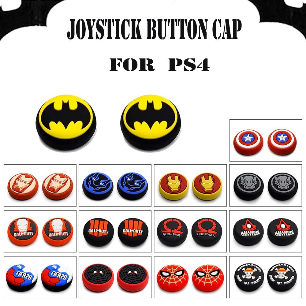 2PCS  PS4 Pro Controller Cover Case Joystick Thumb Grips Cap Balck For XBOXONE Playstation4 Silicone Rubber Joystick Protection|Joysticks|   - AliExpress