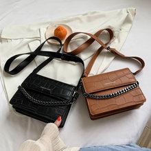 Borsa borsa inclinata da donna 2021 nuova borsa da donna alla moda little ck borsa a forma di pietra piccola borsa quadrata catena borsa monospalla semplice