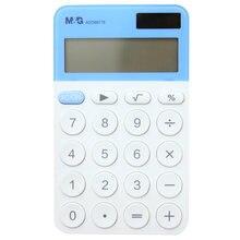 Портативный цифровой калькулятор мини карманный размер 12 дисплей