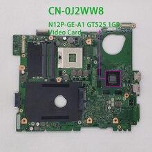 Para Dell Inspiron 15R N5110 CN 0J2WW8 0J2WW8 J2WW8 GT525 1GB DDR3 placa base portátil a prueba