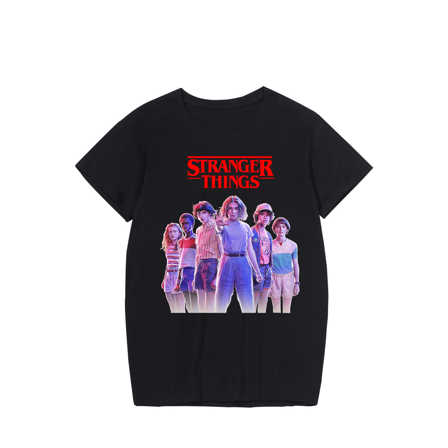 2019 Stranger Things T Shirt Women Tshirt Tee Shirt Femme Clothes Merchandise New Style 4xl Clothes Short Sleeve Women Tee in T Shirts from Women 39 s Clothing