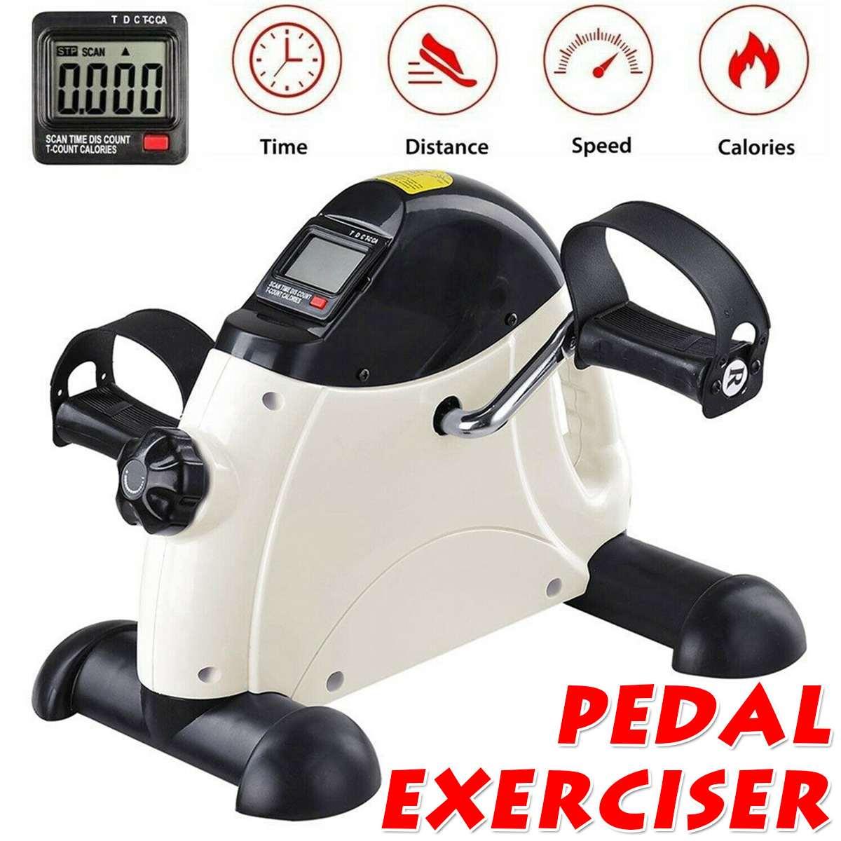 Мини-педаль, шаговый тренажер, ЖК-дисплей, крытый, велосипедный, шаговый, беговая дорожка, тренажер для дома, офиса, тренажерного зала