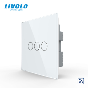 Image 2 - Livolo İngiltere standart 1way duvar işık uzaktan dokunmatik anahtarı, cam Panel, uzaktan kablosuz kontrol anahtarları, hayır wifi fonksiyonu