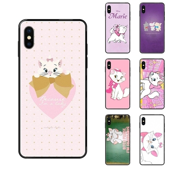 For Galaxy S5 S6 S7 S8 S9 S10 S10e S20 edge Lite Plus Ultra The Aristocats Black Soft TPU Phone Cover Case Capa Order image