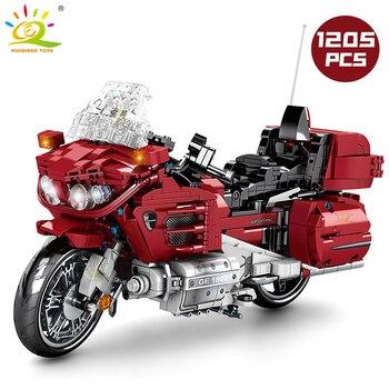 "Конструктор HUIQIBAO ""Туристический мотоцикл"", 1205 шт. 2"