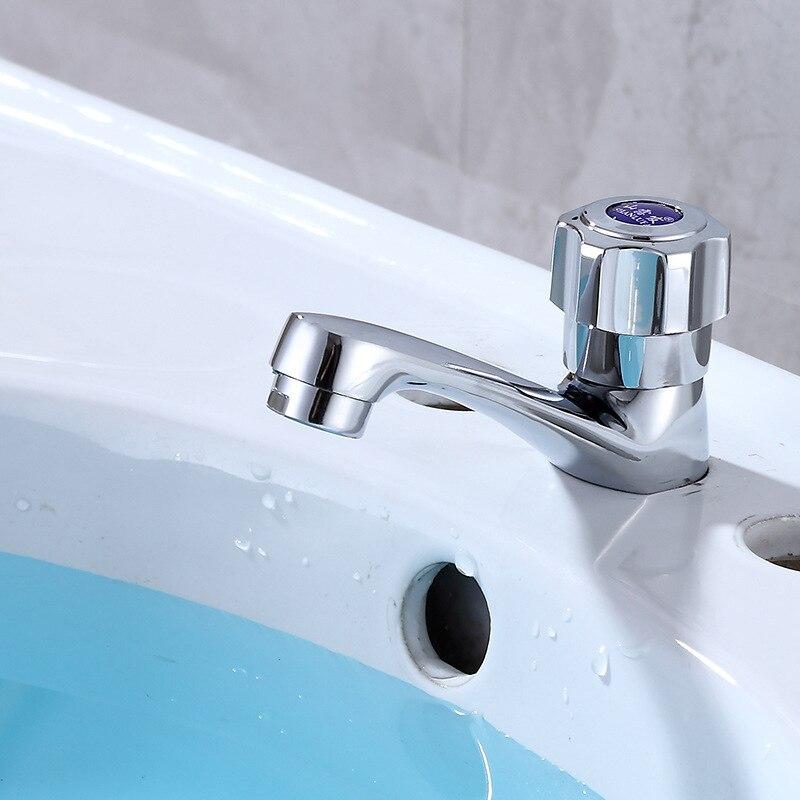 Ride Sanitary Ware Basin Faucet Copper Single Cold Faucet Toilet Wash Basin Faucet
