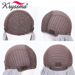Image 5 - Perucas sintéticas longas retas com franja destaque mel loira ombre cosplay perucas para mulheres preto marrom raiz peruca resistente ao calor