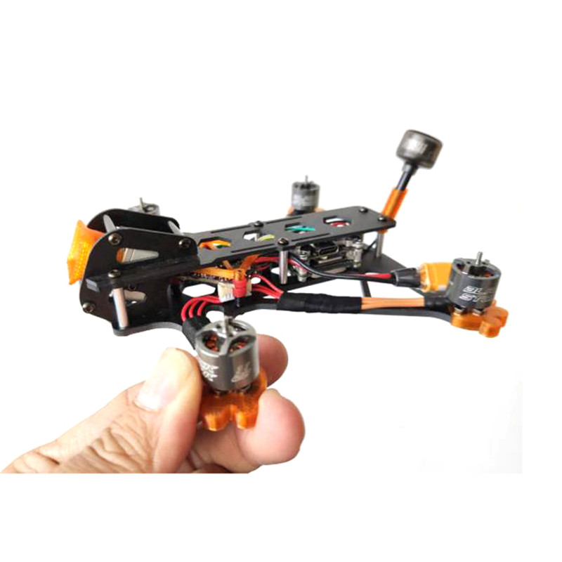 Dragon 3 Inch 139mm Wheelbase Carbon Fiber Frame Kit for CADDX VISTA Camera FPV Racing Drone RC Quadcopter Multicopter RC Parts