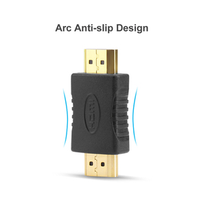 Image 5 - HDMI to HDMI Male to Male Connector Coupler Gold plated 4K HDMI Cable Extender Adapter Converter for HDTV Laptop Projector