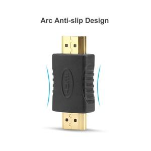 Image 5 - Hdmi에 HDMI 남성 남성 커넥터 커플러 골드 도금 4K HDMI 케이블 Extender 어댑터 변환기 HDTV 노트북 프로젝터에 대 한