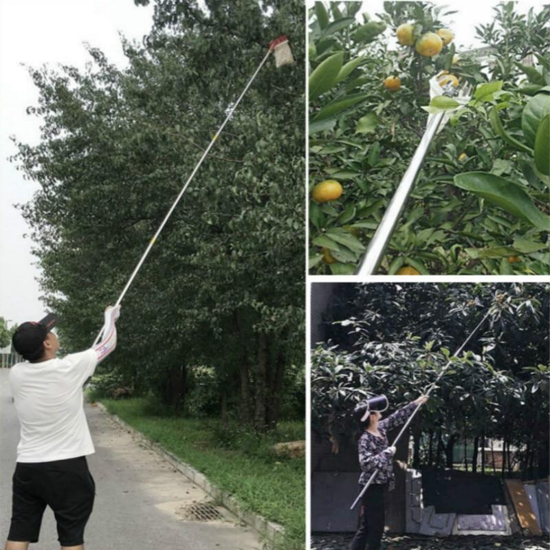 Купить с кэшбэком Garden Supplies agricultural Garden Tool Picker Bag High-altitude Fruit Picker