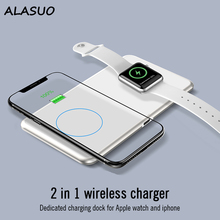 15W wireless charging pad for iPhone 11 apple watch 5 4 3 2 1 charger dock fast charge 2 in 1 portable Qi wireless phone charger car wireless charger for lexus nx wireless charging standard wpc qi 1 2