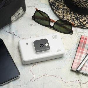 Image 2 - コダック C210 インスタント 2 1 デジタルカメラでミニショットアップグレード版ソーシャルメディアポータブルフォトプリンタ液晶表示色プリント