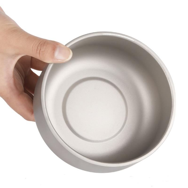 de titanio tigela arroz metal 03