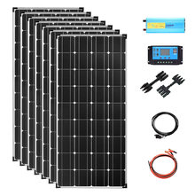 Солнечная панель 110 В 220 800 Вт 12 в комплекте полная мощность