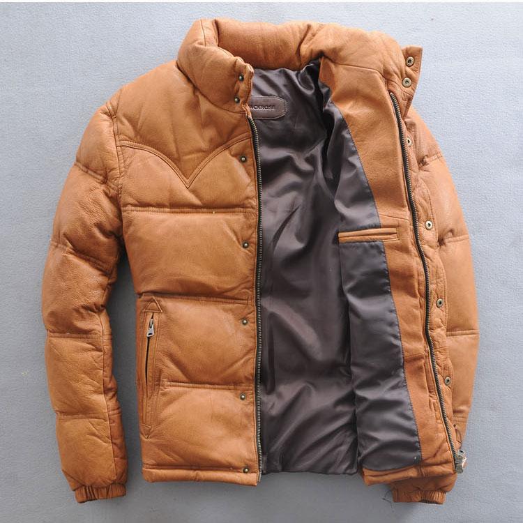 baixo casaco de pele carneiro curto casaco masculino