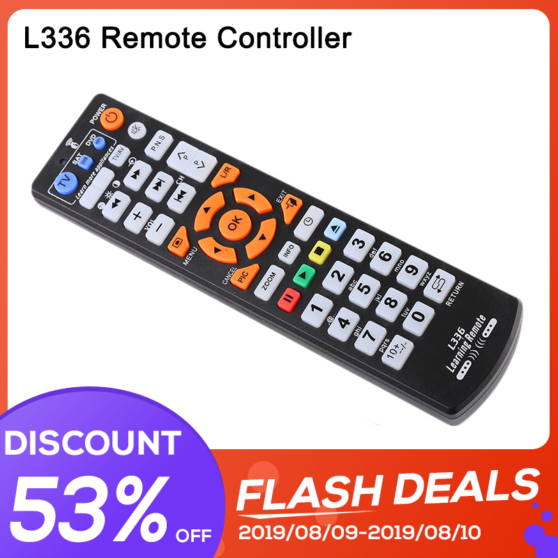 Remote-Control Tv-Box Learn-Function Universal L336 Smart Ir with Copy for STB DVD SAT