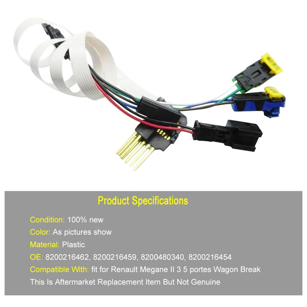 Clock Spiral Cable Clock Spring 8200216462 Fit For Renault Megane 2 MK II Wagon