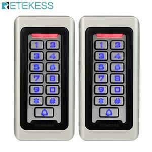 2pcs RETEKESS Keypad RFID Acce