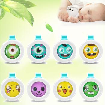 10 sztuk losowy kolor środek odstraszający komary przycisk bezpieczne dla niemowląt dla dziecka dziecko w ciąży komary zabójca Pest Control hurtownie tanie i dobre opinie Karaluchy Muchy Brak Komary Bransoletki i Przyciski