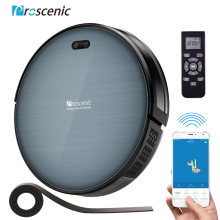 Proscenic Robot Vacuum Cleaner 820T, Wi-Fi and Alexa Connected, 3 in 1Robotic vacuum Cleaner, Powerful 2000PA Carpet Floor