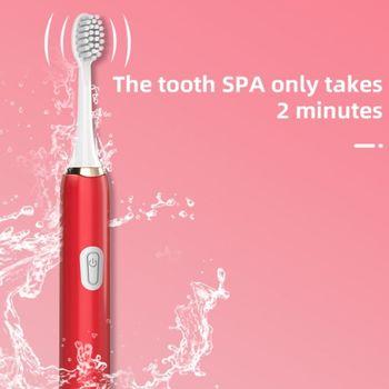 Jianpai szczoteczka do zębów dla dorosłych gospodarstwa domowego nie do naładowania miękkie futro końcówki zamienne zestaw szczoteczka do zębów z 2 szczotka prezent tanie i dobre opinie 400 ml BAMBOO CN (pochodzenie) Naczynia do picia Babies 001 Electric Toothbrush None Health