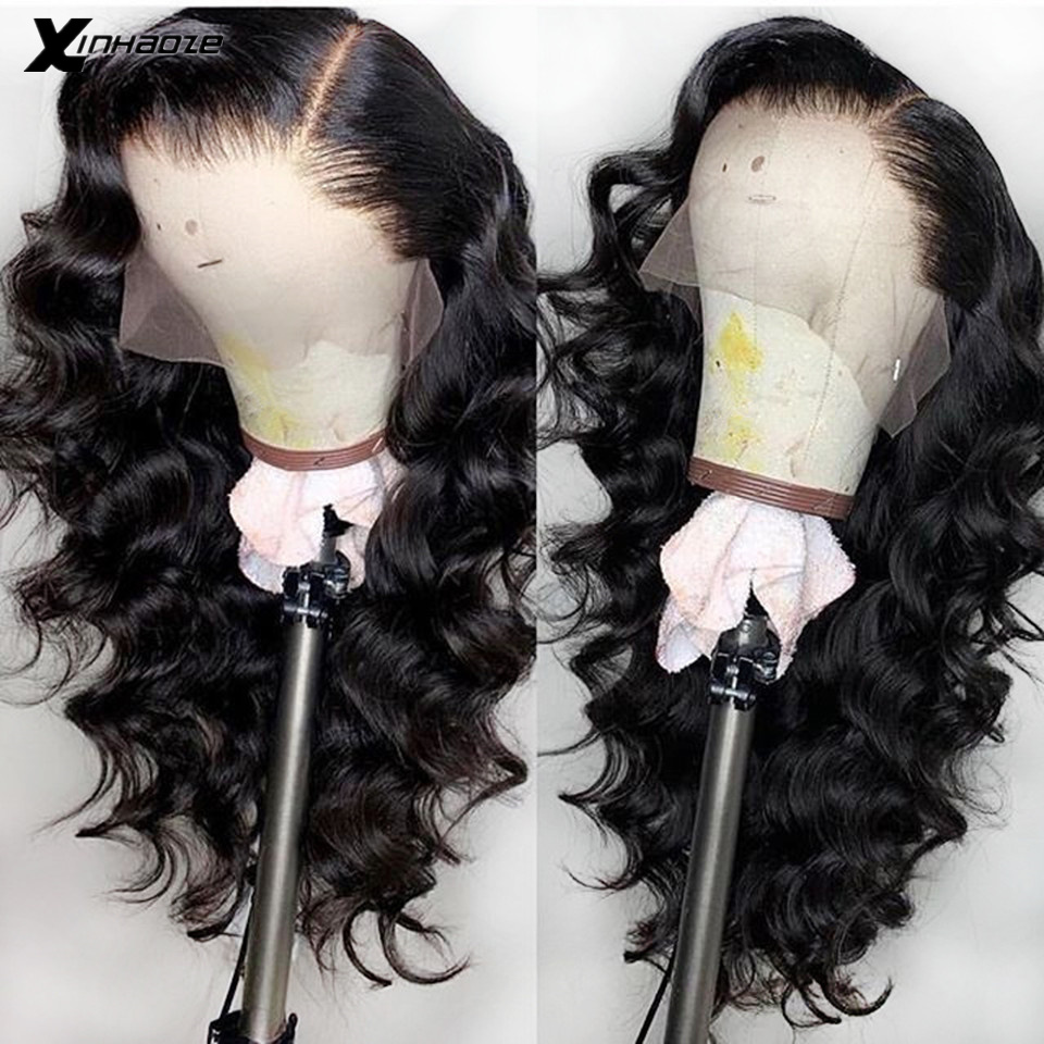 Loose Wavy Lace Front Wig Pre Plucked Hairline Brazilian Lace Front Human Hair Wigs For Black Women Remy Hair Wig With Baby Hair