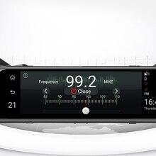"""4G 1"""" HD 1080P зеркало заднего вида Автомобильный видеорегистратор gps навигатор wifi ADAS Dash Cam двойной объектив видеорегистратор с ночным видением Авто регистратор камера"""