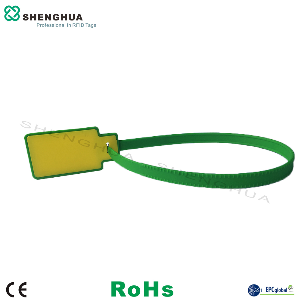 10pcs/pack High Quality Zip Tie Seal Passive RFID Cable Tag Inventory Management UHF Passive Smart Sticker Long Range Reading