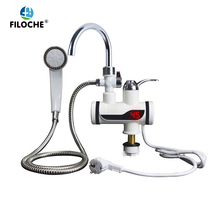 Instant Electric Shower Water Heater Instant Hot Faucet Kitchen Electric Tap Water Heating Instantaneous Water Heater