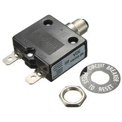 Автоматический Термовыключатель ABSF 30 А 125/В переменного тока 50 В постоянного тока, термозащита для генератора
