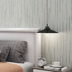 Image 5 - Grey,White Glitter Embossed Texture Solid Color Simple Wallpaper For Bedroom Walls background Wall Paper Home Decor