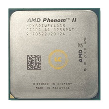 AMD Phenom II X4 B97 CPU/HDXB97WFK4DGM/AM2 + y AM3/938pin/3,2G/95W/6M