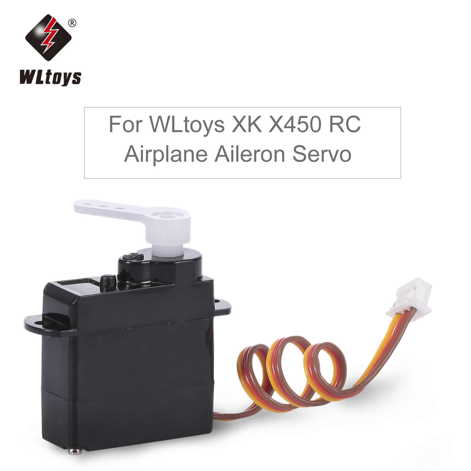 Aileron Front Motor Driving Servo for WLtoys XK X450 RC Airplane Aircraft Helicopter Fixed Wing