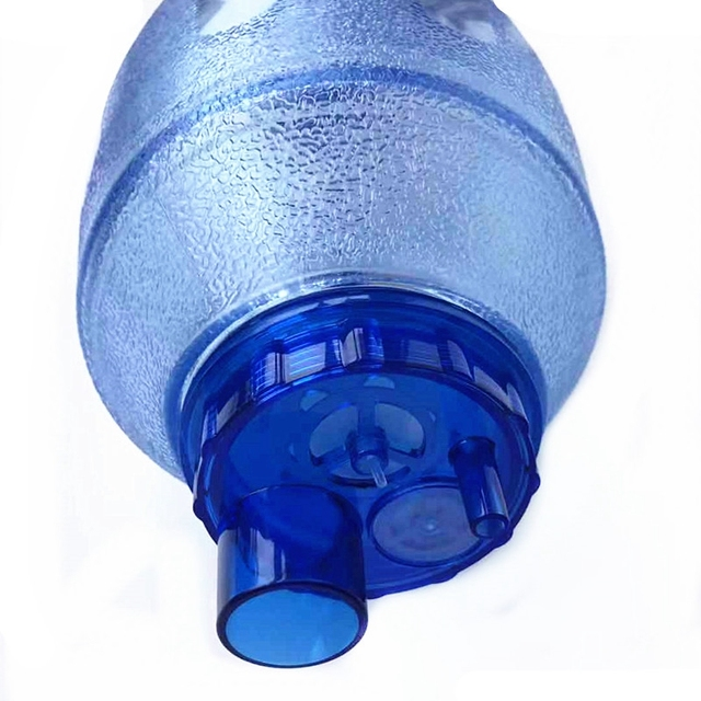 Manual Resuscitator Adult Size PVC  Ambu Bag Oxygen Tube First Aid kit Breathing Apparatus 6