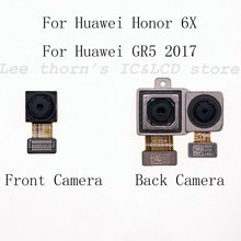 Leethorn New for Huawei Honor 6X Back Facing Camera and Front Camera GR5 2017()