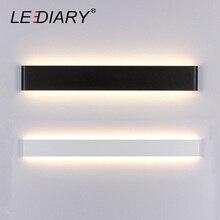 Lediary dec lâmpada de parede 24/41/61/72/91/111cm de comprimento led espelho arandela para banheiro/banheiro/quarto/sala de estar luzes de parede 85 265v