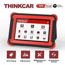 Thinkcar Thinktool Pro ECU kodowanie aktywny Test TPMS profesjonalny pełny układ narzędzie diagnostyczne kod skanera czytnik samochodowy Auto skaner