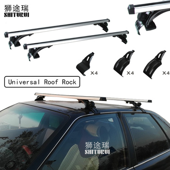 2 pcs Universal 130cm Car Roof Rock Cross Bars For Luggage Carrier Bike Rack Cargo Basket Roof luggage box Car 5502 image