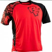 цена на 2020 Enduro bike jerseys Motocross bmx racing jersey downhill dh short sleeve cycling clothes mx summer mtb t-shirt FXR  DH