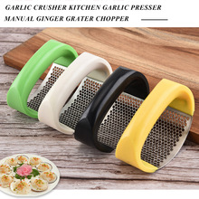 Ginger Grater Garlic-Crusher Crush-Tool Chopper Manual Stainless-Steel 33 Grinding Curved