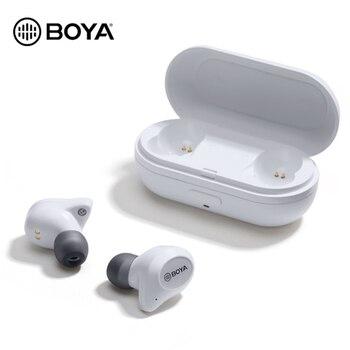 BOYA BY-AP1 Bluetooth 5.0 Wireless  Earbuds True Wireless Stereo  TWS Headset Noise Cancel Waterproof  Earphones